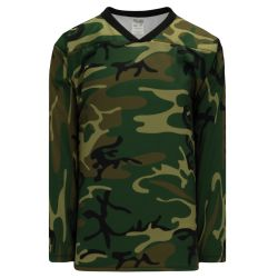 H550C Pro Hockey Jersey - Traditional Camouflage
