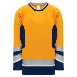 H550C Pro Hockey Jersey - 2002 Nashville 3rd Gold