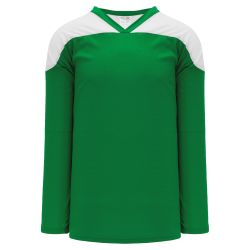 H6100 League Hockey Jersey - Kelly/White