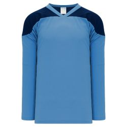 H6100 League Hockey Jersey - Sky/Navy