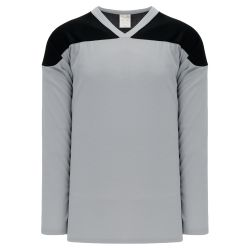 H6100 League Hockey Jersey - Grey/Black