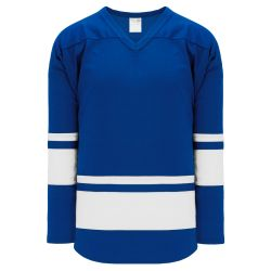 H6400 League Hockey Jersey - Royal/White