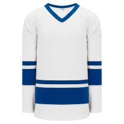 H6400 League Hockey Jersey - White/Royal