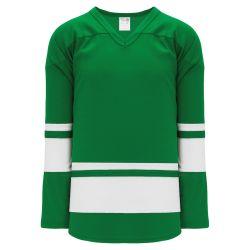 H6400 League Hockey Jersey - Kelly/White