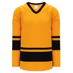 H6400 League Hockey Jersey - Gold/Black
