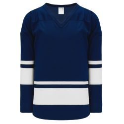 H6400 League Hockey Jersey - Navy/White