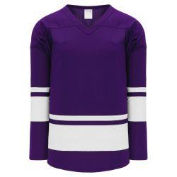 H6400 League Hockey Jersey - Purple/White