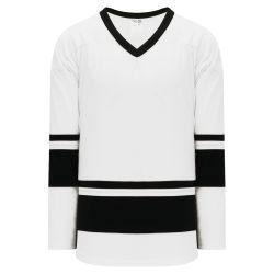 H6400 League Hockey Jersey - White/Black