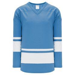 H6400 League Hockey Jersey - Sky/White