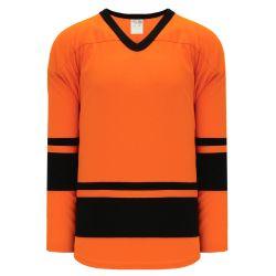 H6400 League Hockey Jersey - Orange/Black
