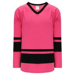 H6400 League Hockey Jersey - Pink/Black
