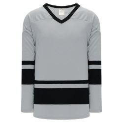 H6400 League Hockey Jersey - Grey/Black