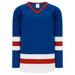 H6500 League Hockey Jersey - Royal/Red/White