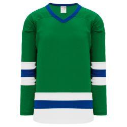 H6500 League Hockey Jersey - Kelly/Royal/White