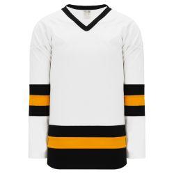 H6500 League Hockey Jersey - White/Black/Gold