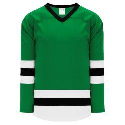 H6500 League Hockey Jersey - Kelly/White/Black