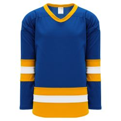 H6500 League Hockey Jersey - Royal/White/Gold