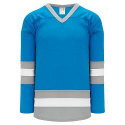 H6500 League Hockey Jersey - Pro Blue/Grey/White