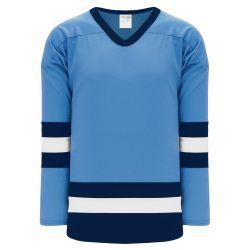 H6500 League Hockey Jersey - Sky/White/Navy
