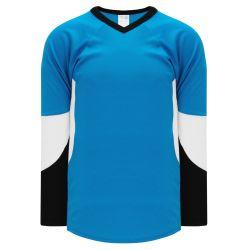 H6600 League Hockey Jersey - Pro Blue/Black/White