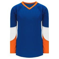H6600 League Hockey Jersey - Royal/Orange/White