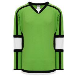 H7000 Select Hockey Jersey - Lime Green/Black/White