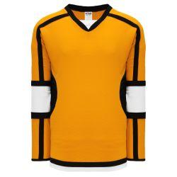H7000 Select Hockey Jersey - Gold/White/Black