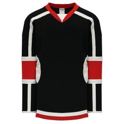H7000 Select Hockey Jersey - Black/Red/White
