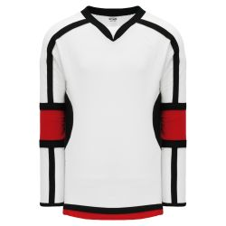H7000 Select Hockey Jersey - White/Black/Red