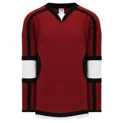 H7000 Select Hockey Jersey - Av Red/Black/White