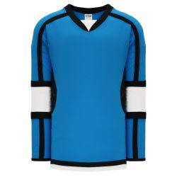 H7000 Select Hockey Jersey - Pro Blue/Black/White