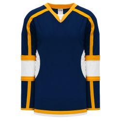 H7000 Select Hockey Jersey - Navy/White/Gold