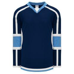 H7000 Select Hockey Jersey - Navy/Sky/White