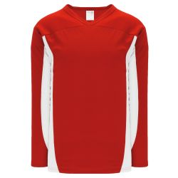 H7100 Select Hockey Jersey - Red/White