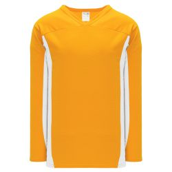 H7100 Select Hockey Jersey - Gold/White