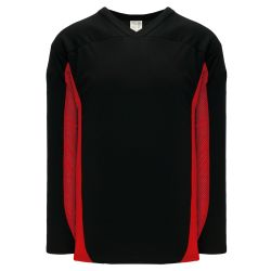 H7100 Select Hockey Jersey - Black/Red