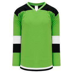 H7400 Select Hockey Jersey - Lime Green/Black/White