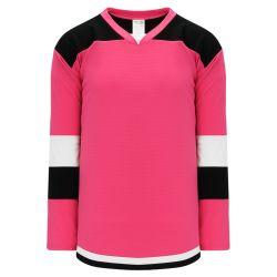 H7400 Select Hockey Jersey - Pink/White/Black