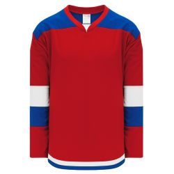 H7400 Select Hockey Jersey - Red/Royal/White
