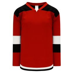 H7400 Select Hockey Jersey - Red/Black/White