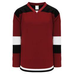 H7400 Select Hockey Jersey - Av Red/Black/White