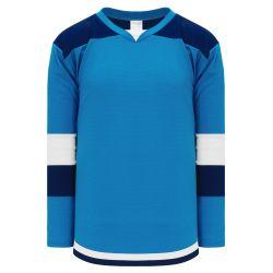 H7400 Select Hockey Jersey - Pro Blue/Navy/White