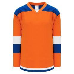 H7400 Select Hockey Jersey - Orange/Royal/White