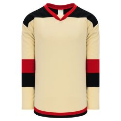 H7400 Select Hockey Jersey - Sand/Black/Red