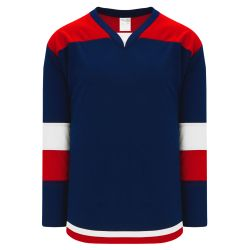 H7400 Select Hockey Jersey - Navy/Red/White