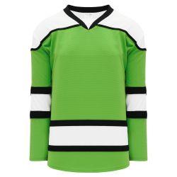 H7500 Select Hockey Jersey - Lime Green/Black/White