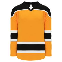 H7500 Select Hockey Jersey - Gold/White/Black