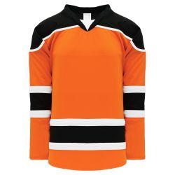 H7500 Select Hockey Jersey - Orange/Black/White