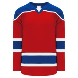 H7500 Select Hockey Jersey - Red/Royal/White