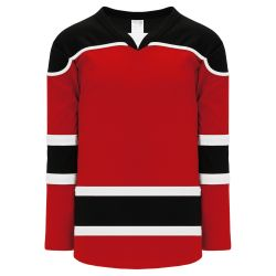 H7500 Select Hockey Jersey - Red/Black/White